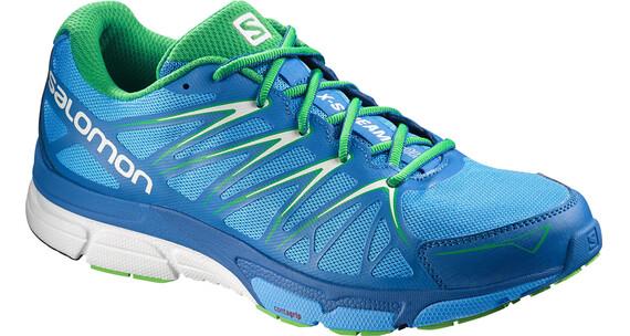 Salomon M's X-Scream Foil Shoes Process Blue/Union Blue/Real Green